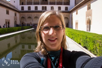 Alhambra palace, Grenada, Spain