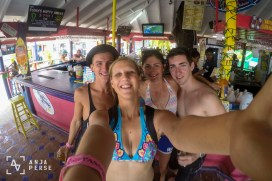 Hanging out at the bar, Boatyard, Barbados, Caribbean