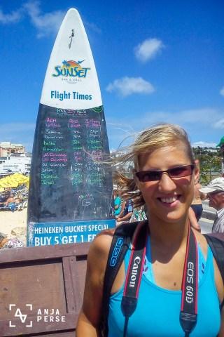 Maho Beach, St. Maarten, Caribbean