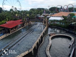 View of Enchanted Kingdom theme park