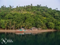 Private beach at Marinduque