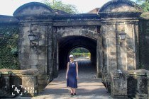 Entrance to the fortress in Manila