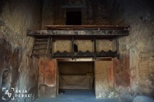 Inside one of the insulas in Herculaneum