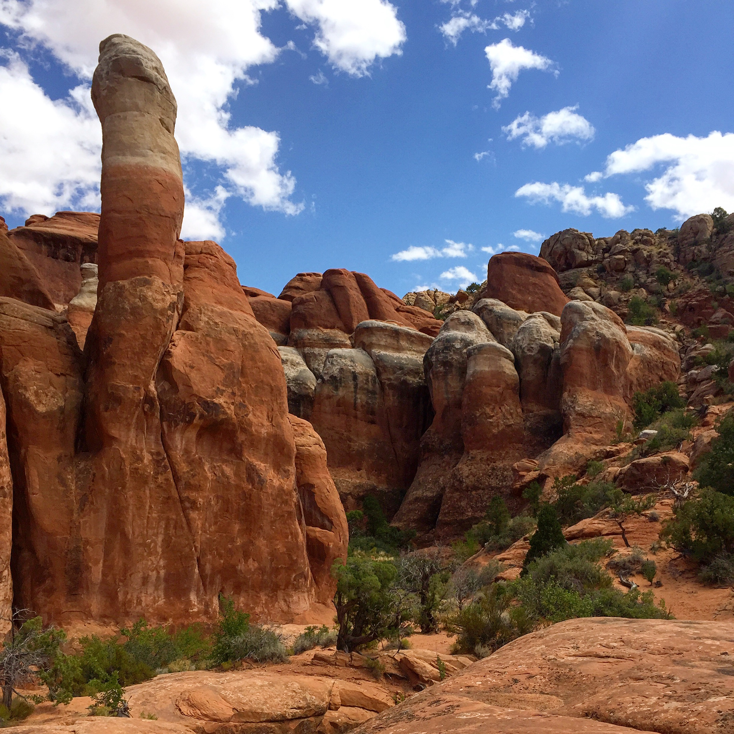 Arches National Park, 3 of 3: The Fiery Furnace  A Writer