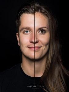 Twee gezichten in een foto | 2in1 portret
