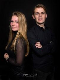 Broer en zus fotografie