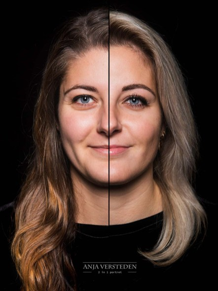 splitfoto split foto portret 2in1