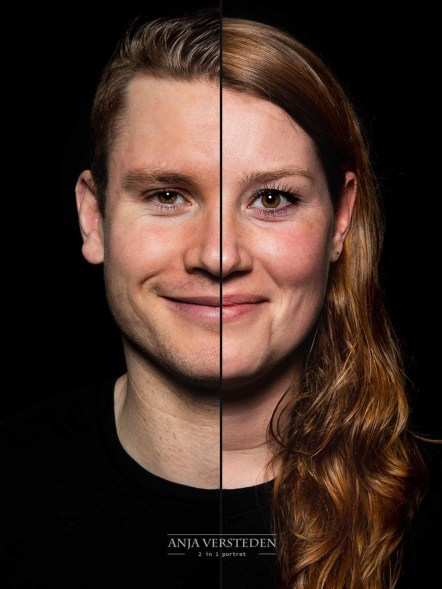 2in1 Portret 2 in 1 duofotografie