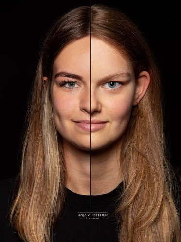 Combinatieportret zussen