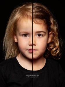2in1 portret van twee zusjes