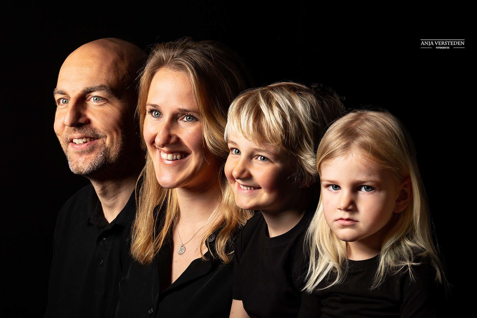 Generatiefoto Generatieportret familie gezin
