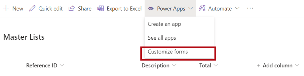 Customize Forms in SharePoint List Form