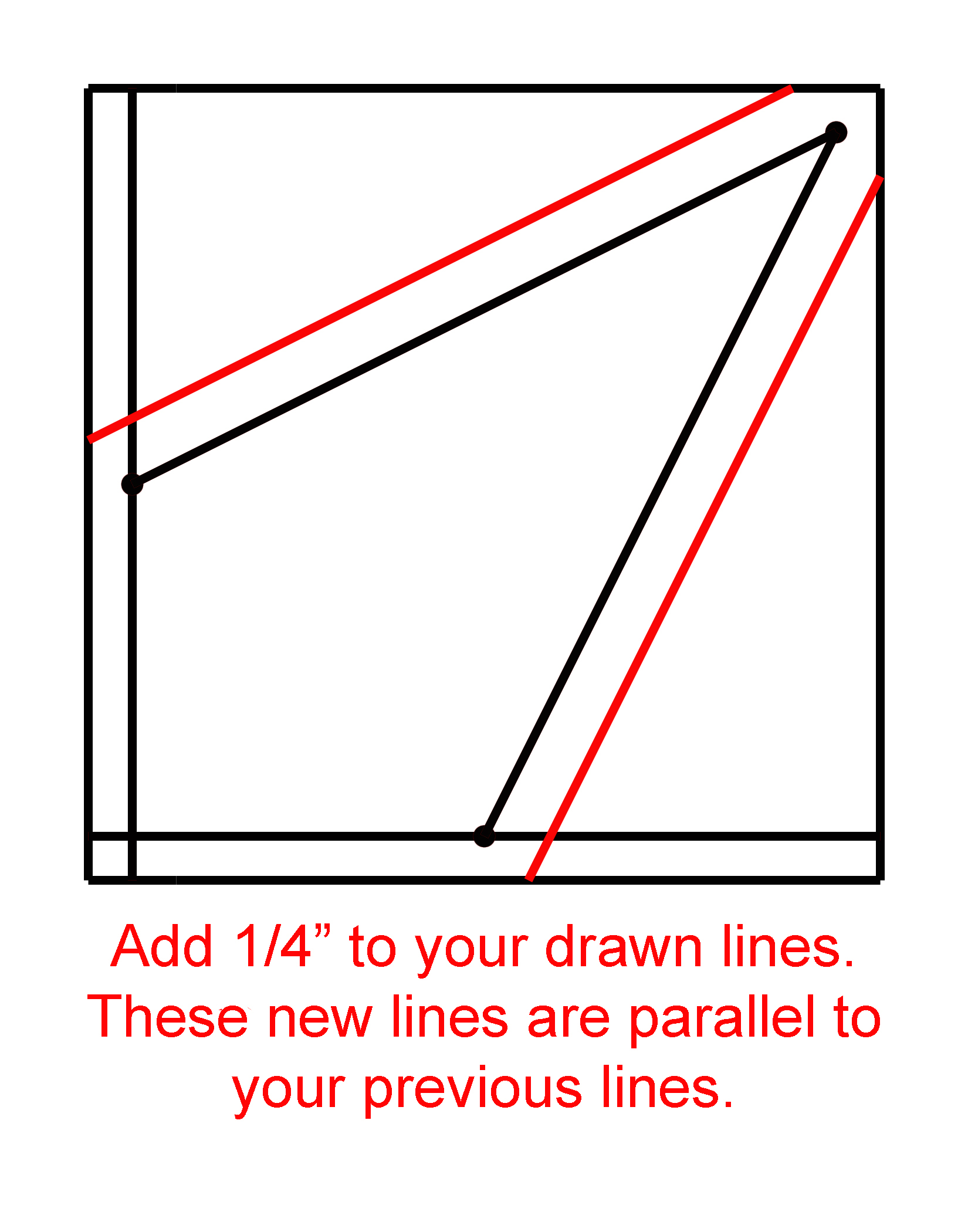 How To Make A Kite Template For The Maple Leaf