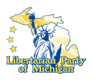 A logo for the Libertarian Party of Michigan. Courtesy of the Libertarian Party of Michigan