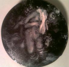 miniature oil painting