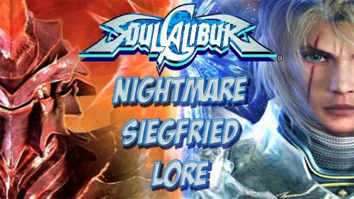 SoulCalibur - Siegfried and Nightmare Two Entities Live by the Sword.