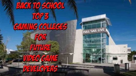 gaming colleges