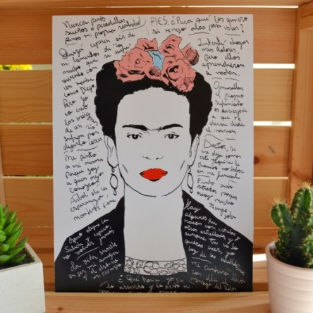 "Tablilla Soul Retro ""Frida"""
