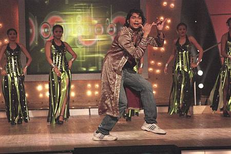 A participant performing for Dance Sangram