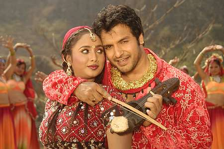 Rani Chatterjee with Vinay Anand in Damini