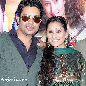 Vikrant and Rakhi