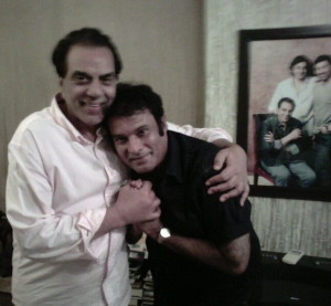Bimal-with-Dharmendra