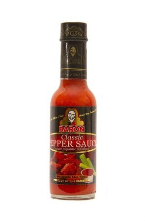 Baron Blazing Hot Pepper Sauce