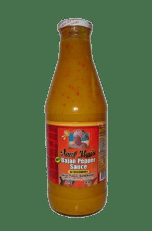 Aunt May's Bajan Hot Pepper Sauce 26oz