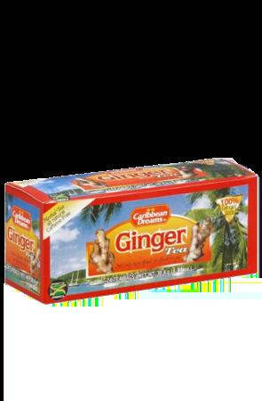 Caribbean Dreams Ginger Tea (pack of 24 tea bags)   Caffeine Free