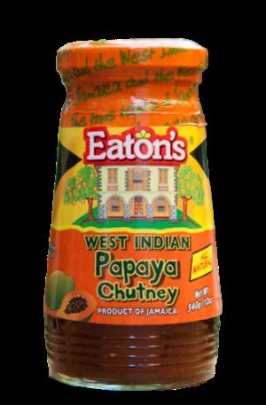 Eaton's West Indian Papaya Chutney from Jamaica