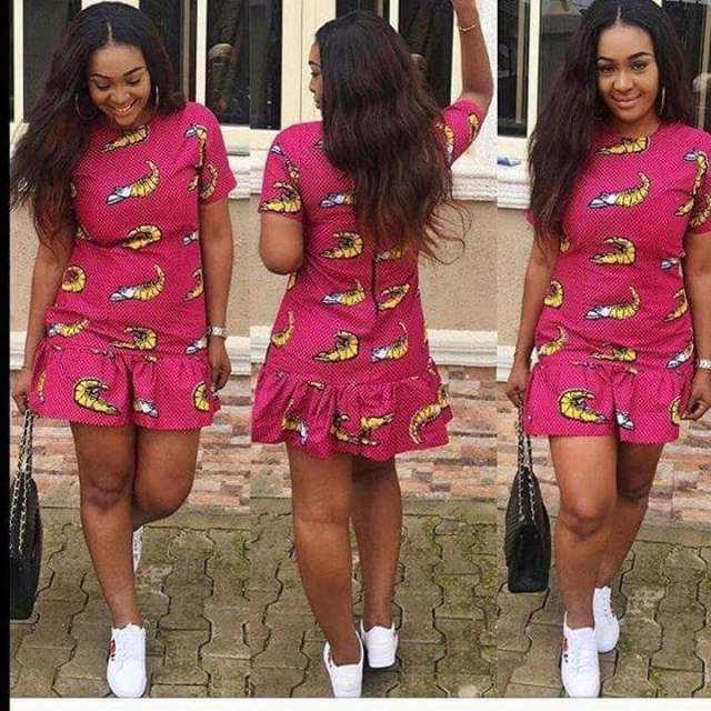 Best Short Ankara Gown For Ladies (2018)