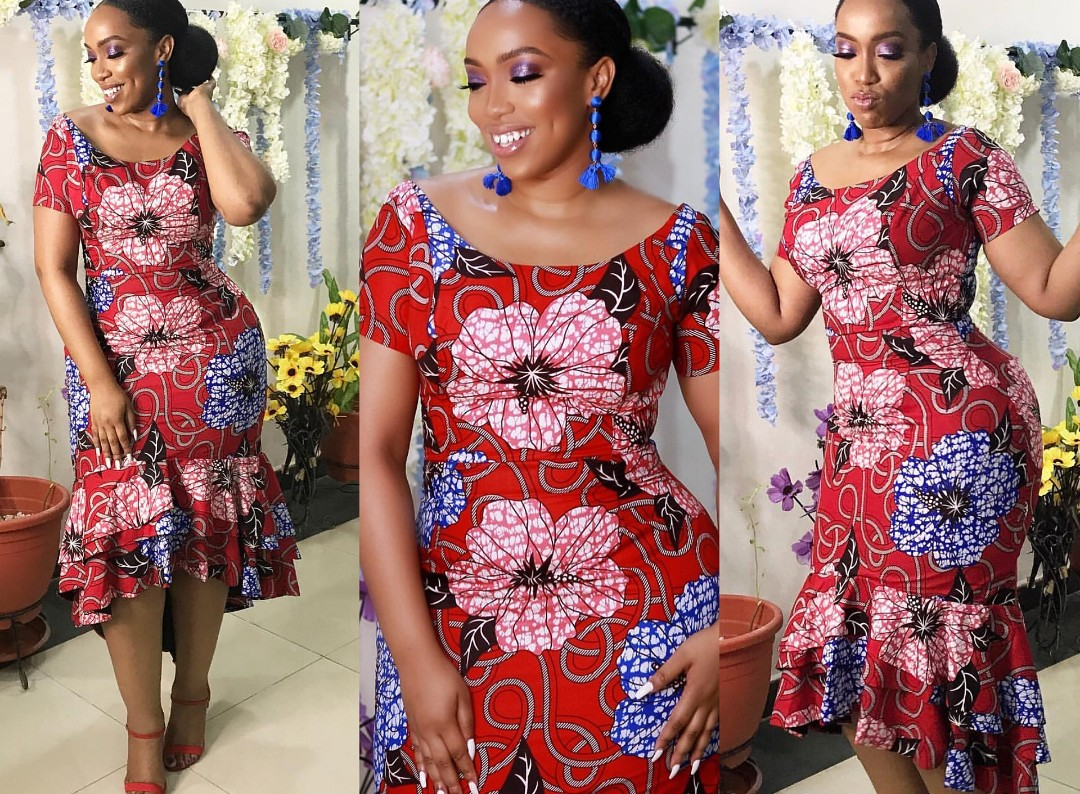 BellaNaija Ankara Gown Styles For Nigeria/African Ladies ...