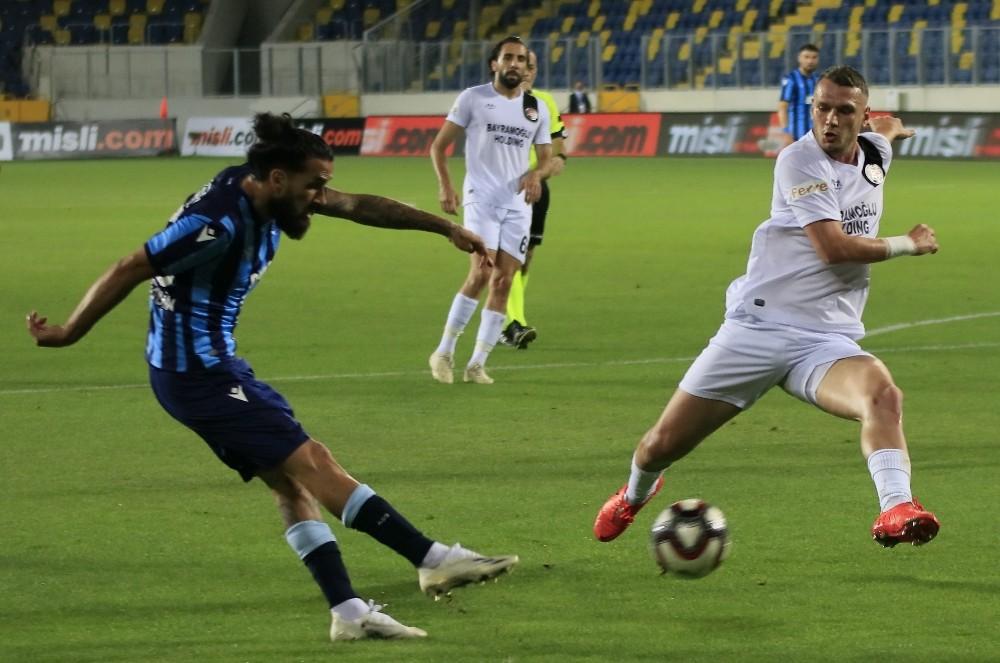 TFF 1. Lig Play-Off Finali: Adana Demirspor: 0 – Fatih Karagümrük: 1 (İlk yarı)