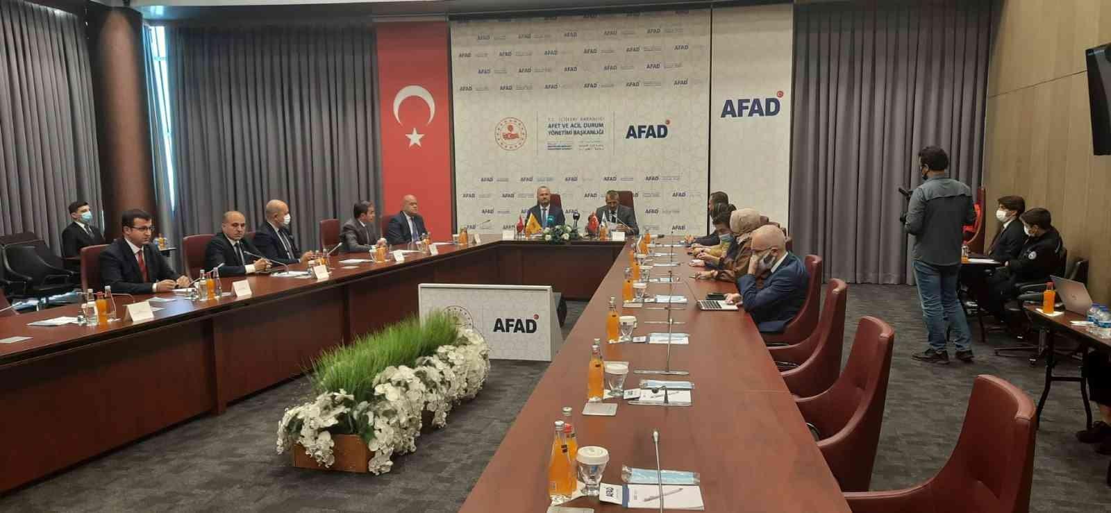 AFAD ile PTT'den afetlere karşı iş birliği protokolü