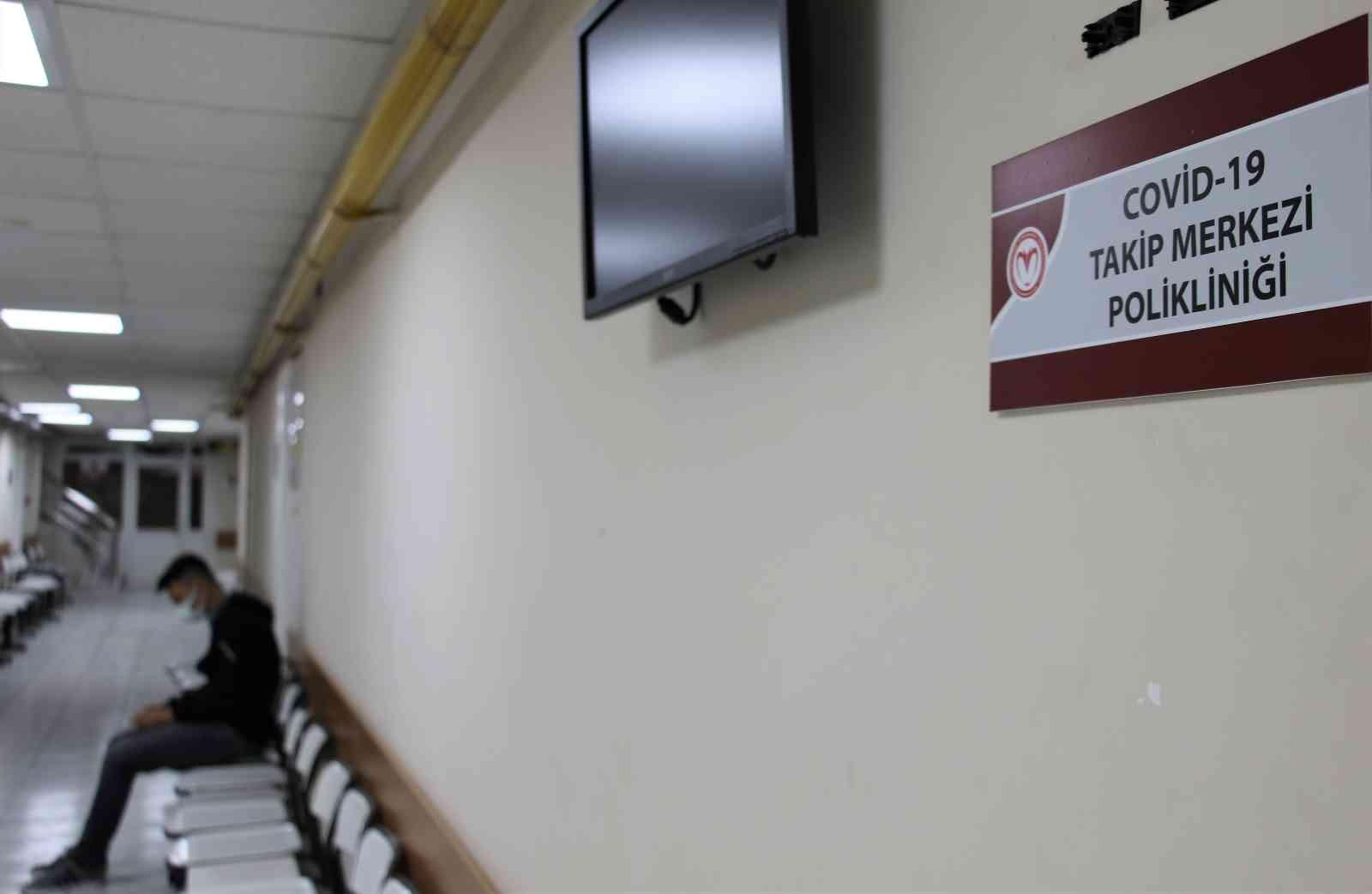 Türkiye'nin ilk Covid-19 Takip Merkezi'ne başvuran hastaların ortak şikayeti 'nefes darlığı'
