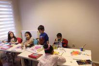 Çocuklar için resim kursu