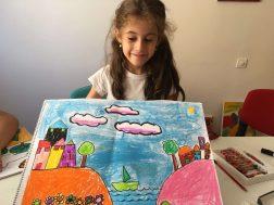 Çocuklar için resim dersi, Çocuklar için resim kursu