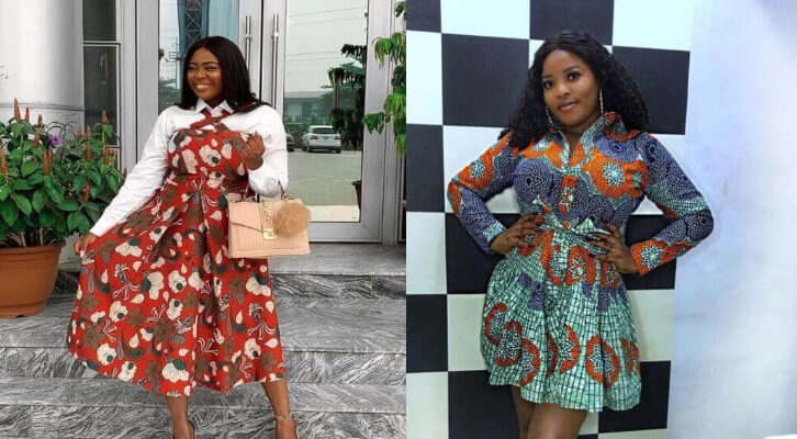 37 Ankara Gowns With Attractive Native Styles To Try In 2020