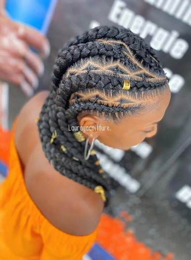 2. Chunky African braids