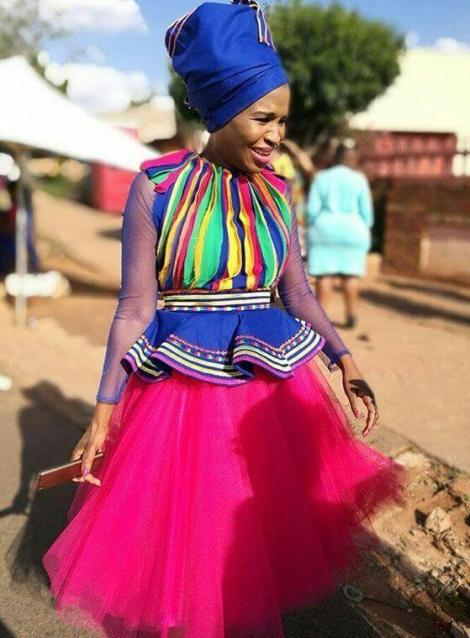 25 Amazing Sepedi Traditional Wedding Dresses 2020 To Wear