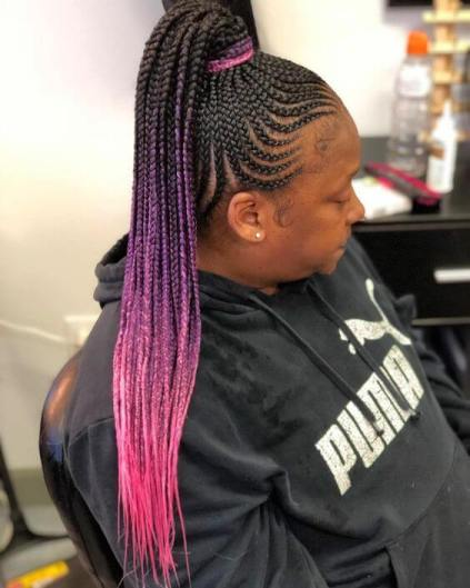 Amazing Feed in Braids styles for 2020