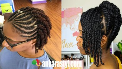 39+ Best Flat Twists Hairstyles for Black Natural Hair To Try