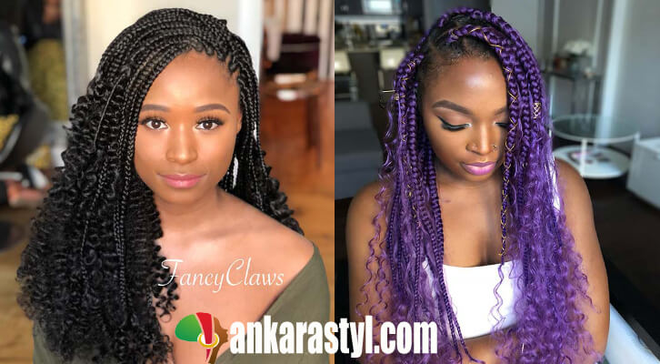 23 best goddess box braids ponytails 2020 for black girls. You'll find bright colors, different lengths, and more.