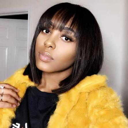 Weave Bob Hairstyles with Bangs