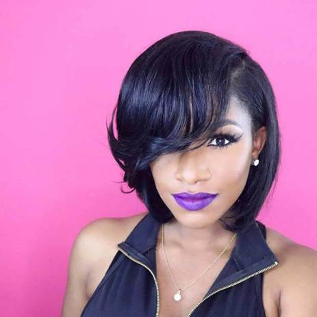 21+ Perfect Inverted Weave Bob Hairstyles 2020 For Black Girls
