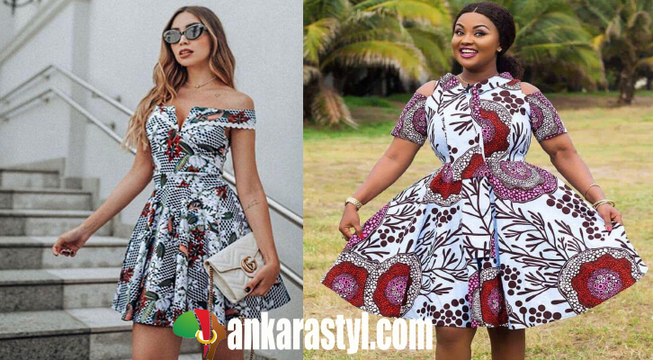 25 Latest Ankara Short Gown Styles for ladies In Nigeria 2020