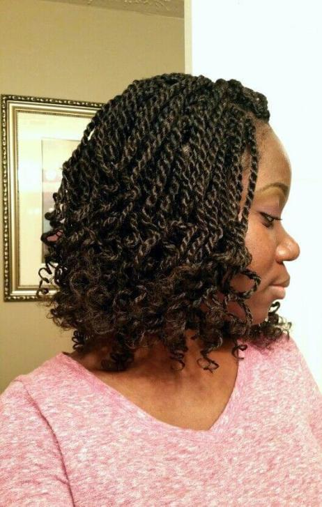Perfect Nubian Twist Braids Hairstyles For Short And Long Hair