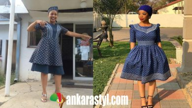 25 Amazing Shweshwe Dresses 2021 For South Africa Ladies