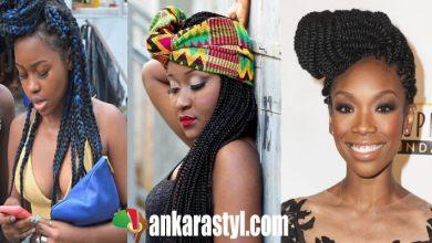 39 Best and Lovely Box Braids Ponytails 2020 for Black Girls