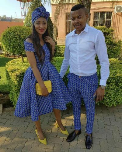 South African Tswana Traditional Dresses 2020